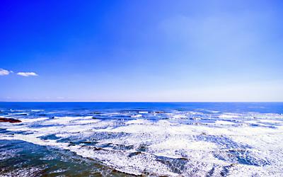 散骨する場所は関門海峡の海域です